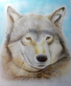 dieren, wolf