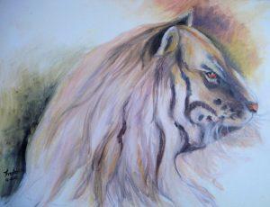 dieren; tijger
